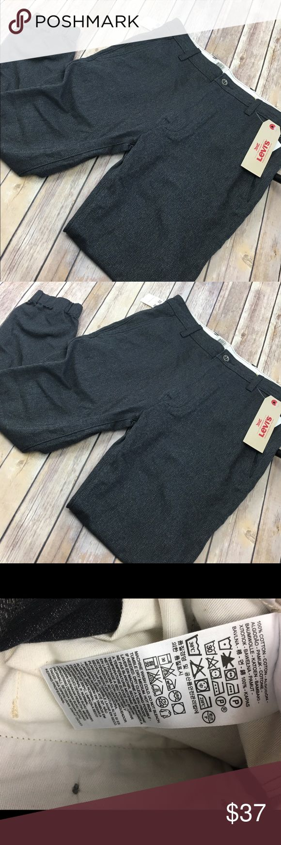 NWT men's Levi's Chino Jogger pants casual 33x30 New with tags chino jogger by Levi. Size tag reads 33x30 Levi's Pants Chinos & Khakis