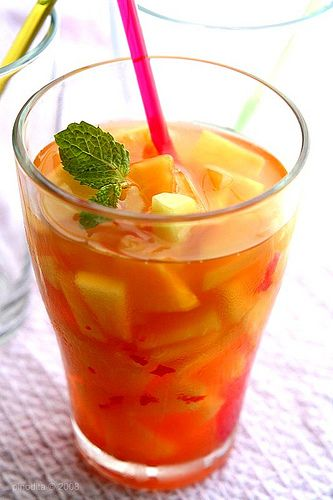 Gohu - Unripe Papaya in Sweet, Sour and Spicy Syrup (Manado) Uncle Robby used to make me this for me when I was little :)
