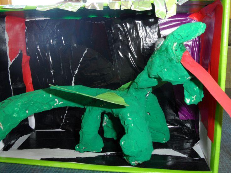 de groene draak