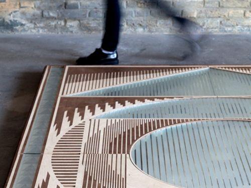 Passage Wooden Carpets by Esther Jongsma