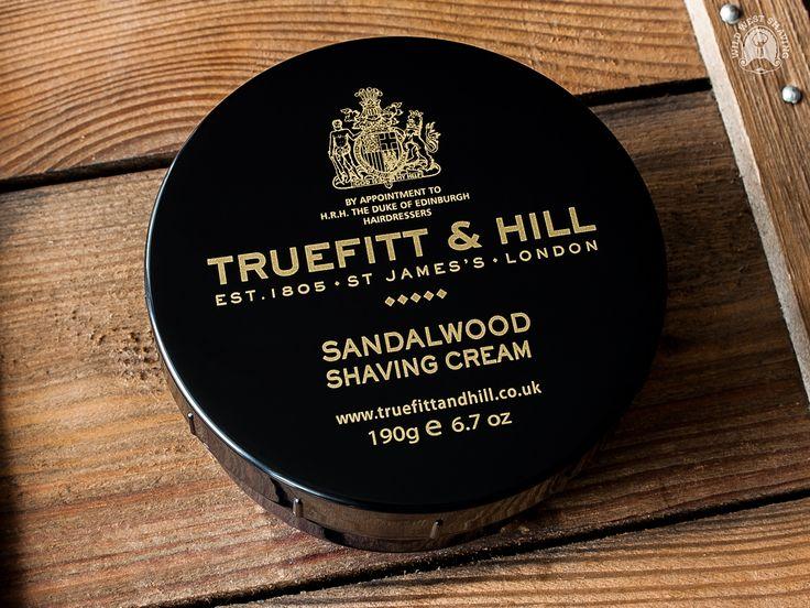 Truefitt & Hill SANDALWOOD Shaving Cream - 190g