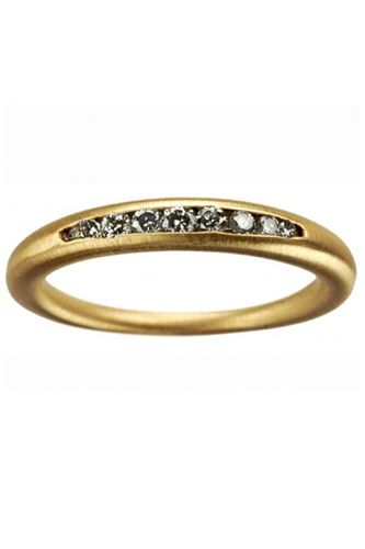 Conroy Wilcox Diamond 18k Taper Band, $1950 available at Conroy Wilcox.