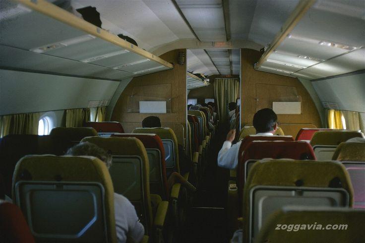 Vickers Viscount Invicta | Vintage Airliner Cabins ...