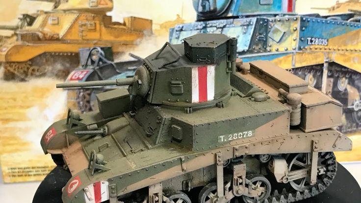 Building the 1/35  Academy M3 Stuart Honey tank