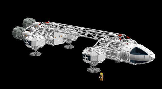 Istruzioni per la costruzione di LEGO: Spazio 1999 Eagle Transporter