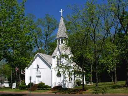 Episcopal church in San Augustine, TX