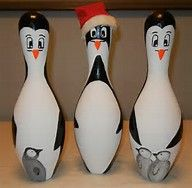 Image result for bowling pin painting