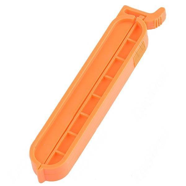 Stapler Design Plastic Vacuum Sealing Food Sealed Clip Keeping Fresh Bag