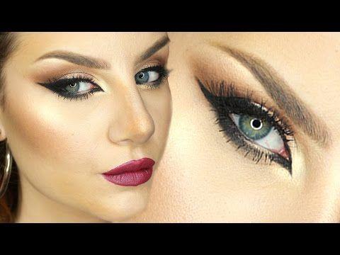 Makeup Tutorial Trucco Arabo Occhi da gatta e Eyeliner sexy ft. TheEmanueleCastelli - YouTube