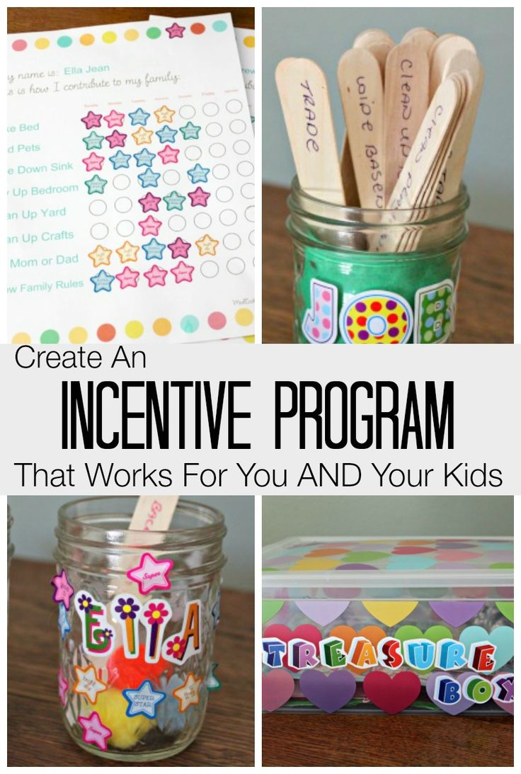 Create An Incentive Program That Works For You AND Your Kids you'll want to stick to!