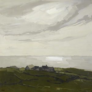 Sir Kyffin Williams (1918 to 2006) Welsh landscape painter