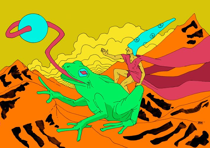 Arte de Federico Abuyé. Ilustraciones y cómic. Publicación Independiente. Diseño. Música. Federico Abuye´s art. Illustration and comic. Independent publication. Design. Music