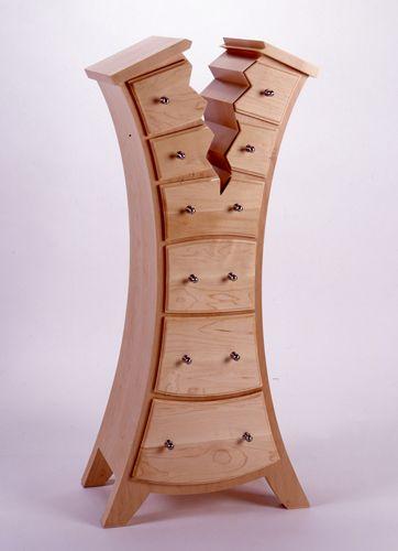 O designer canadense Judson Beaumont e seu estudio desenvolveram esses móveis saídos direto dos desenhos animados.