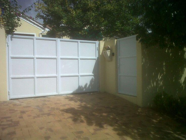 Aluzinc gates