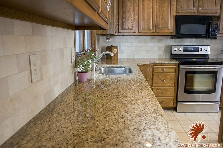 74 Best Images About Kitchen Redo On Pinterest Giallo Ornamental Granite T