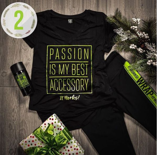 Be as passionate about your style as you are about your business!! GO out in active fashion and show off your favorite accessories by adding a little bling to complete this look ! #BlackGreenBling