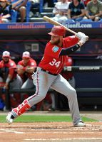 Nationals' Bryce Harper homers in first at-bat of season