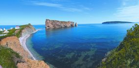Rocher Percé is a magnificent must-see.