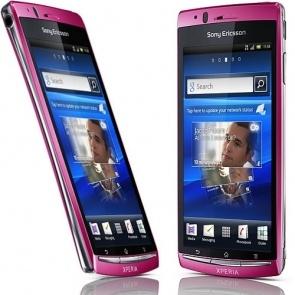 Sony Ericsson LT18I Xperia Arc S Pink