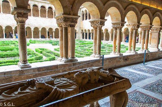 El claustro romanico de Santo Domingo de Silos