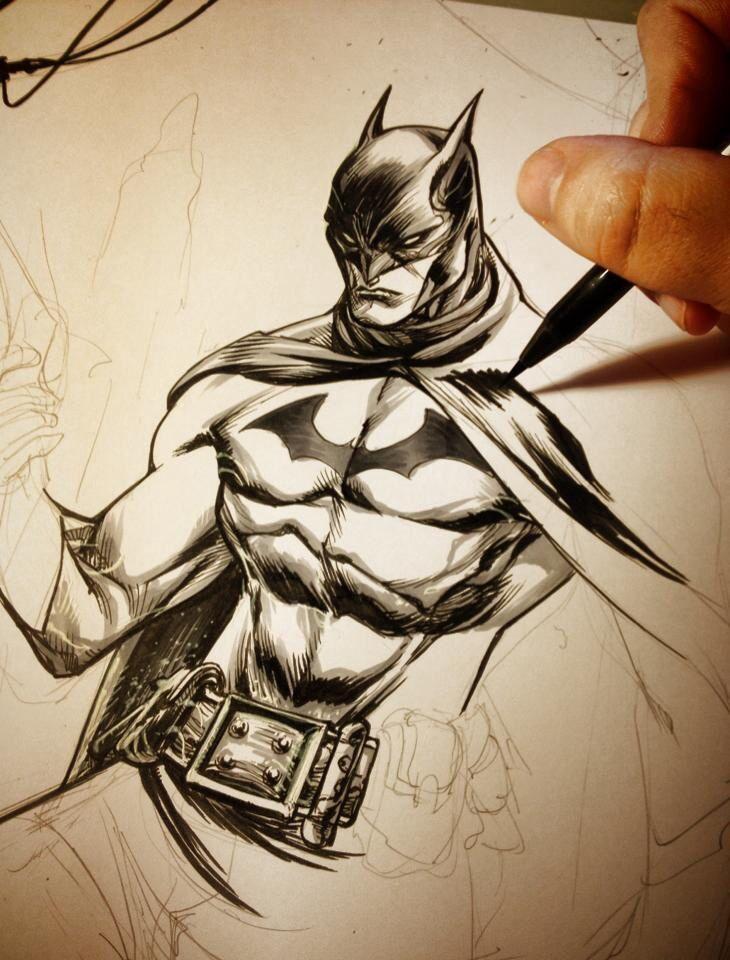 Batman drawing