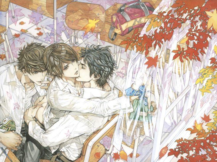 Ayumi Kasai - Reijin Hyper Boy's Magazine November 2011 #anime #yaoi