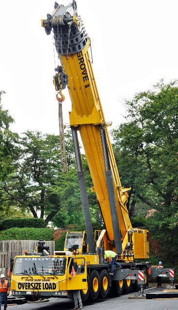 I am going to begin doing reconstruction on my business building.  I will need to rent a crane for the work I need done.  I don't know if I will need a special type of permit in order to rent this equipment.
