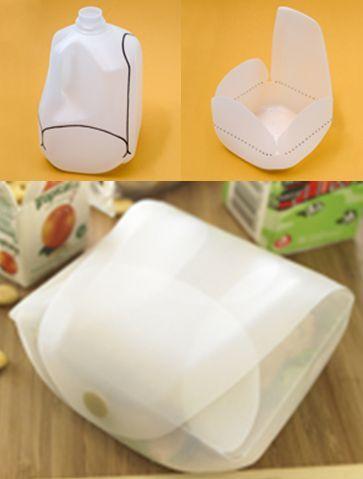 Aprender a Hacer | Aprender a hacer : Un recipiente con un galon de plastico