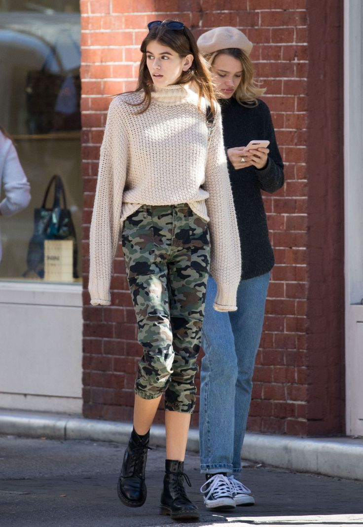 KAIA GERBER at La Colombe in New York 10/20/2017