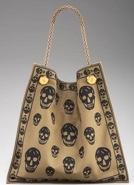 Mr. McQueen's Skull Print Canvas Shopper                                                                                                                                                                                 More