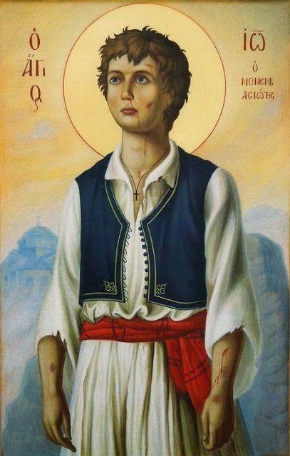 Παναγία Ιεροσολυμίτισσα : Το 15χρονο παιδί που μαρτύρησε για να μην προδώσει...