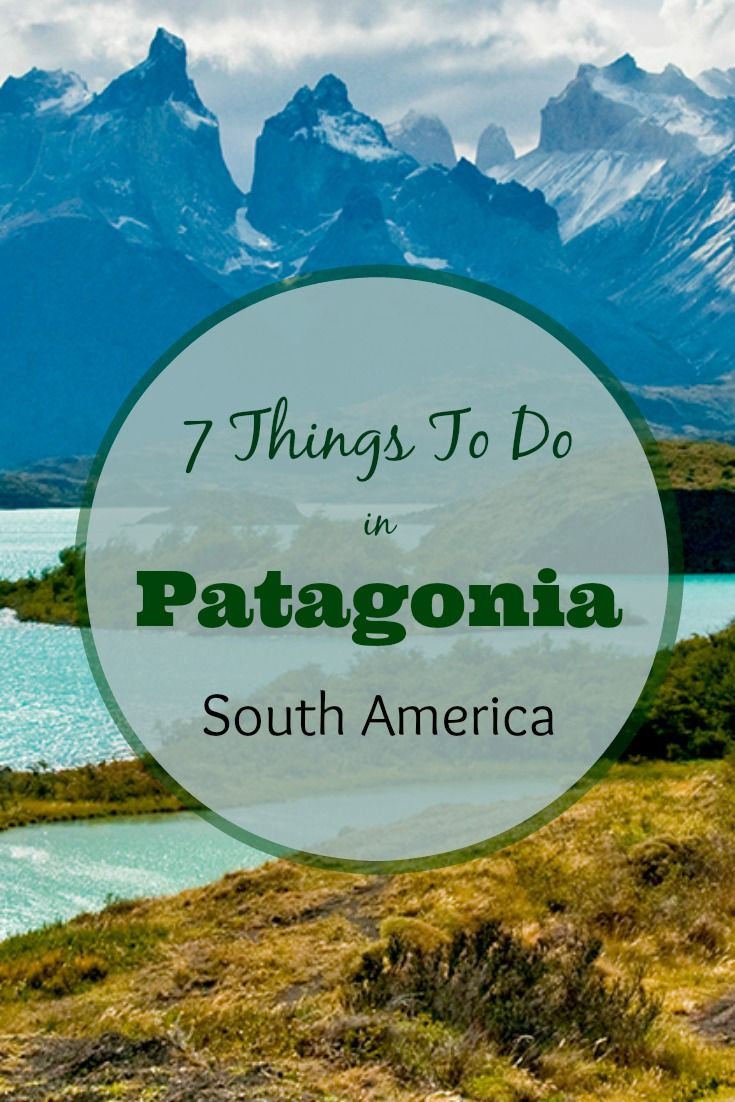 Patagonia is stunning– a land of granite mountains, pristine lakes and mighty glaciers that will make your jaw drop. Adventure opportunities are endless in Patagonia, from rock climbing and glacier walking to close-up wildlife viewing. Click on the pin to see our 7 favorite things to do in Patagonia for nature and adventure lovers. | What to do in Patagonia | Argentina travel tips | Patagonia trip | Patagonia travel |Argentina travel Patagonia - @greenglobaltrvl