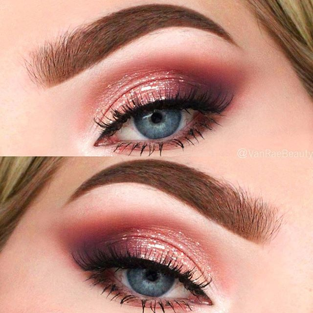 #regram @vanraebeauty Feeling peachy ✨ Ive been loving the @toofaced Sweet Peach palette lately. This is the look I wore for my Christmas dinner. Details: Eyes • @toofaced Sweet Peach palette shades Candied Peach, Summer Yum and Talk Derby to Me in crease, Just Peachy and Nectar #tfsweetpeach #toofaced