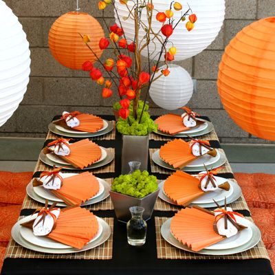 ENTERTAINING INSPIRATION   Chic Asian Inspired Tablescape perfect for any dinner party