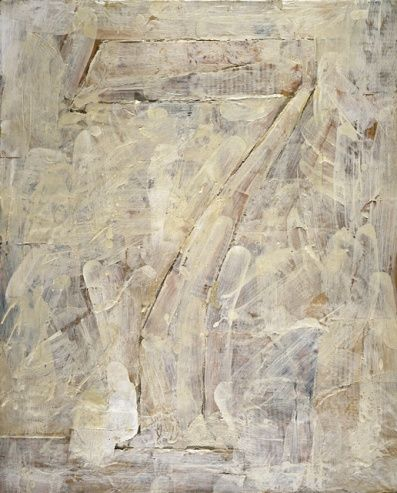 Jasper Johns, 'Figure 7,' encaustic and collage, 1955