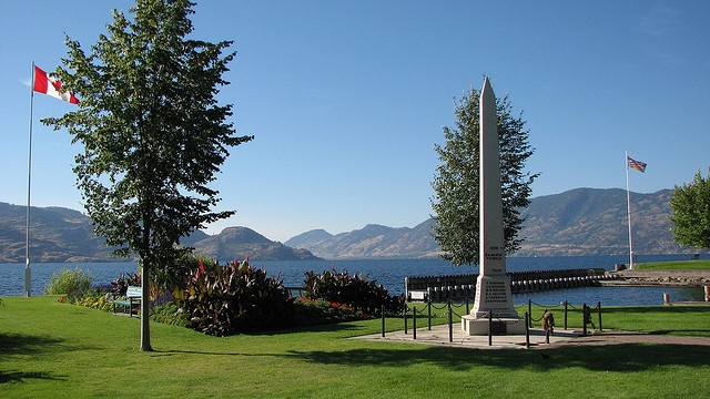 Peachland Cenotaph -- Curated by: Peachland Dental Centre | 4405 - 3rd street Peachland, BC, V0H1X7 | 250-767-6411