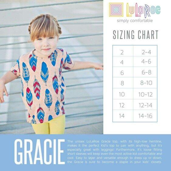 New sizing chart www.facebook.com/groups/LuLaRoewithBridgetBurton