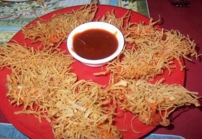 My all time fav-crunchy chicken fromHao Ming, Mangalore