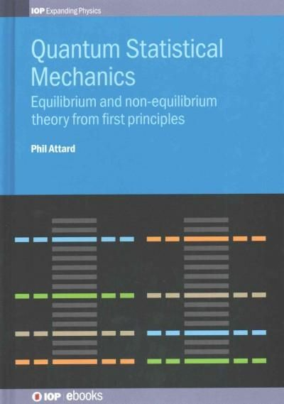 Best 25 statistical mechanics ideas on pinterest enrico fermi quantum statistical mechanics equilibrium and non equilibrium theory from first principles fandeluxe Image collections
