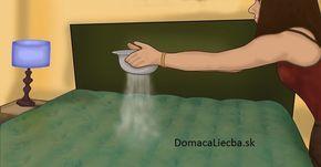 Žena posypala posteľ sódou bikarbónou. Keď zistíte prečo, urobíte to isté