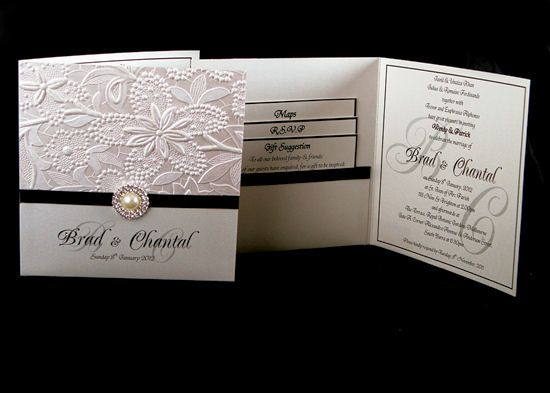 Wedding Invitation Custom Design: Elegant Wedding Invitations Weddingdivecom Elegant Wedding