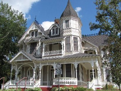 The historical Downes-Aldrich house in Crockett, TX circa 1891-1893, is considered to be one of the most beautiful homes in Houston County. The Eastlake Victorian style house was home to some of the first settlers in Crockett, who reportedly may not have fully vacated the premises.   The majestic house is rich with history, and according to area residents the house is also rich with a persistent presence.
