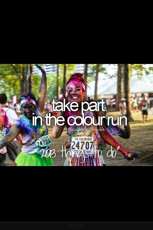 I can't wait! #ColorRun
