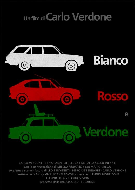 Film Bianco, Rosso, Verdone by Carlo Verdone.