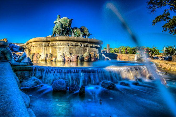 Gefion Fountain, Kastellet, Copenhagen, Denmark | Flickr - Photo Sharing!