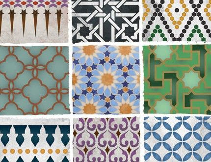New Moroccan Stencils From Royal Design Studio | Paint + Pattern