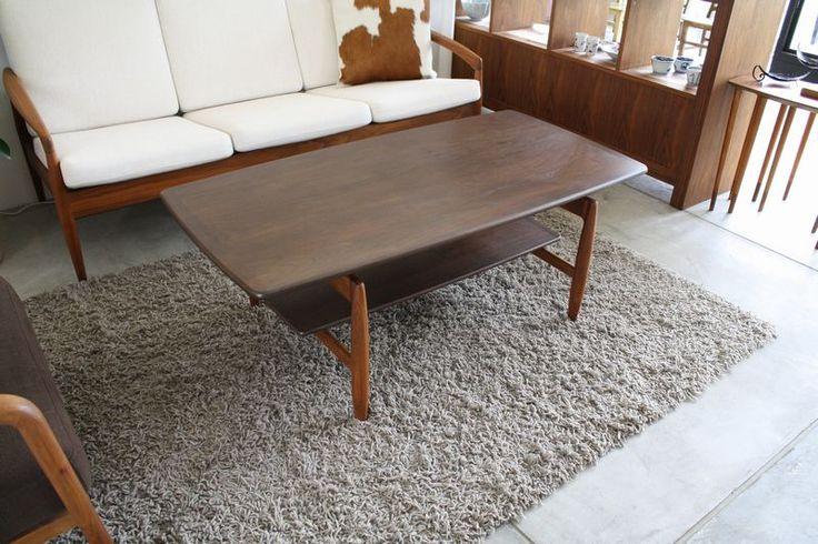 Kai Kristiansen Paper Knife center table  宮崎椅子製作所 ウォールナット材 コーヒーテーブル