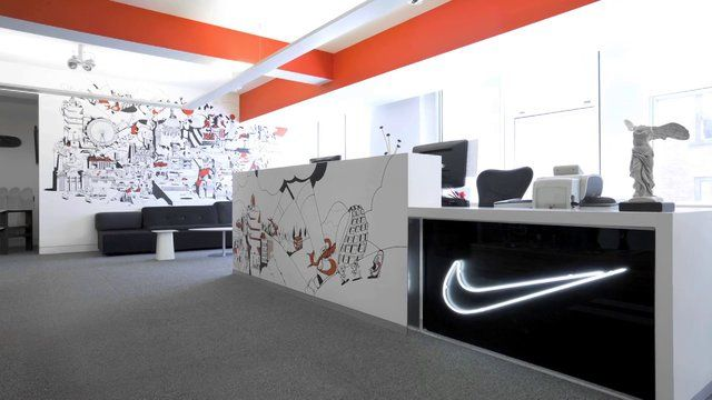 Read the case study for more info:  http://www.rosielees.co.uk/work/nike-head-office-redesign