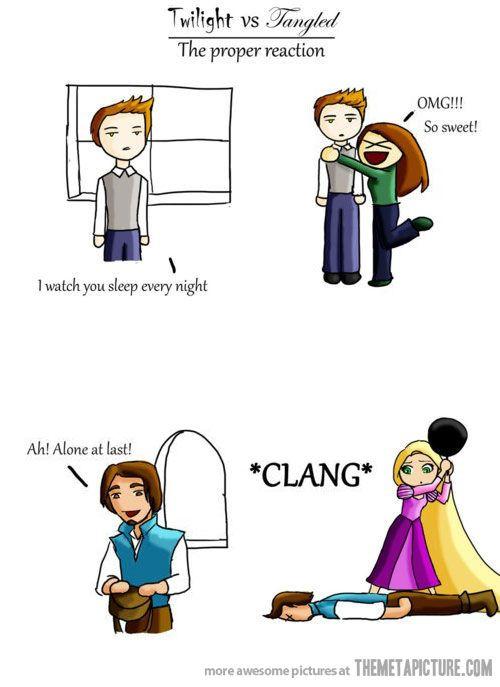Twilight vs. Tangled