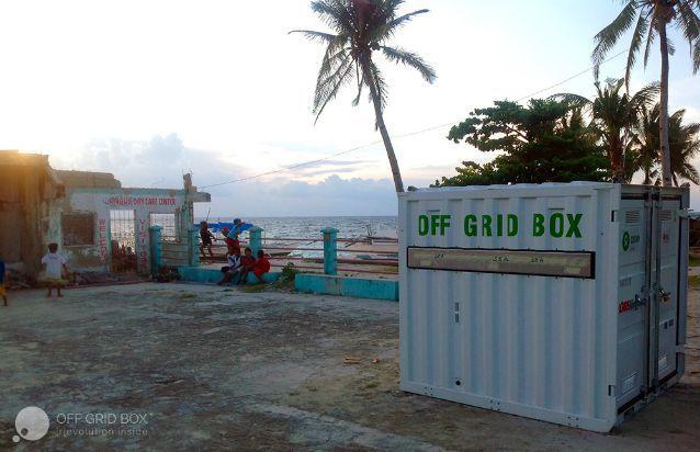 Off Grid Box in sostegno di oltre 2 mila abitanti delle Filippine colpiti dal passaggio del tifone Hayan del 2013